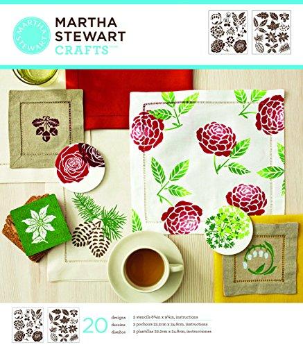 martha-stewart-crafts-medium-stencils-875-by-975-inch-32259-four-seasons-2-sheets-with-20-designs
