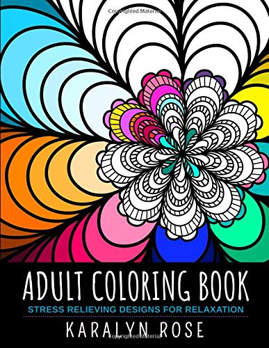 Pdf Crafts Adult Coloring Book: Stress Relieving Designs for Relaxation (Stress Relieving Coloring Books)