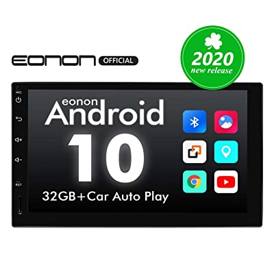 Double Din Car Stereo, Android 10 Android Head Unit with DSP, Eonon 7 Inch Car Stereo Car Radio Support Android Auto Apple Carplay/WiFi/Fast Boot/Backup Camera/OBDII(No CD/DVD) - GA2180A: Electronics