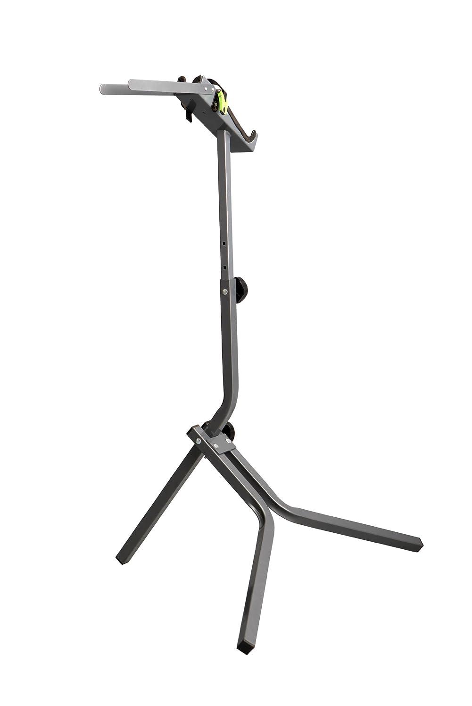 Unitec 60677 Easy - Soporte para reparar bicicletas, color gris y negro