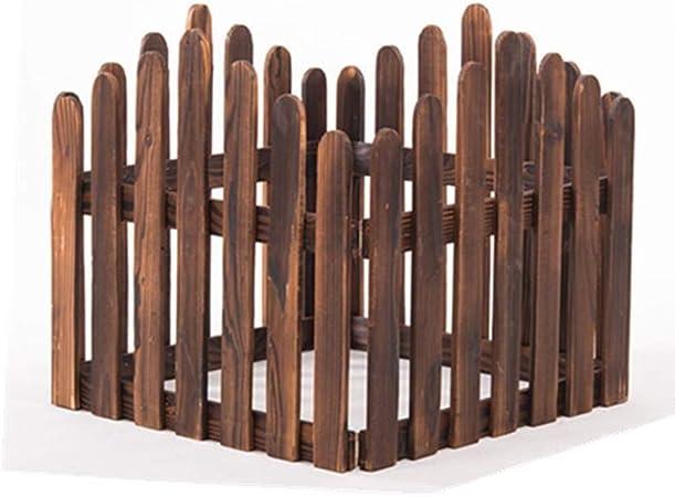 LJFYMX Vallas de Madera Jardin Valla de jardín Valla de Borde de Madera jardín jardín Patio Delantero Tratamiento de Intemperie Vallas para Jardin (Size : 60 * 160cm): Amazon.es: Hogar