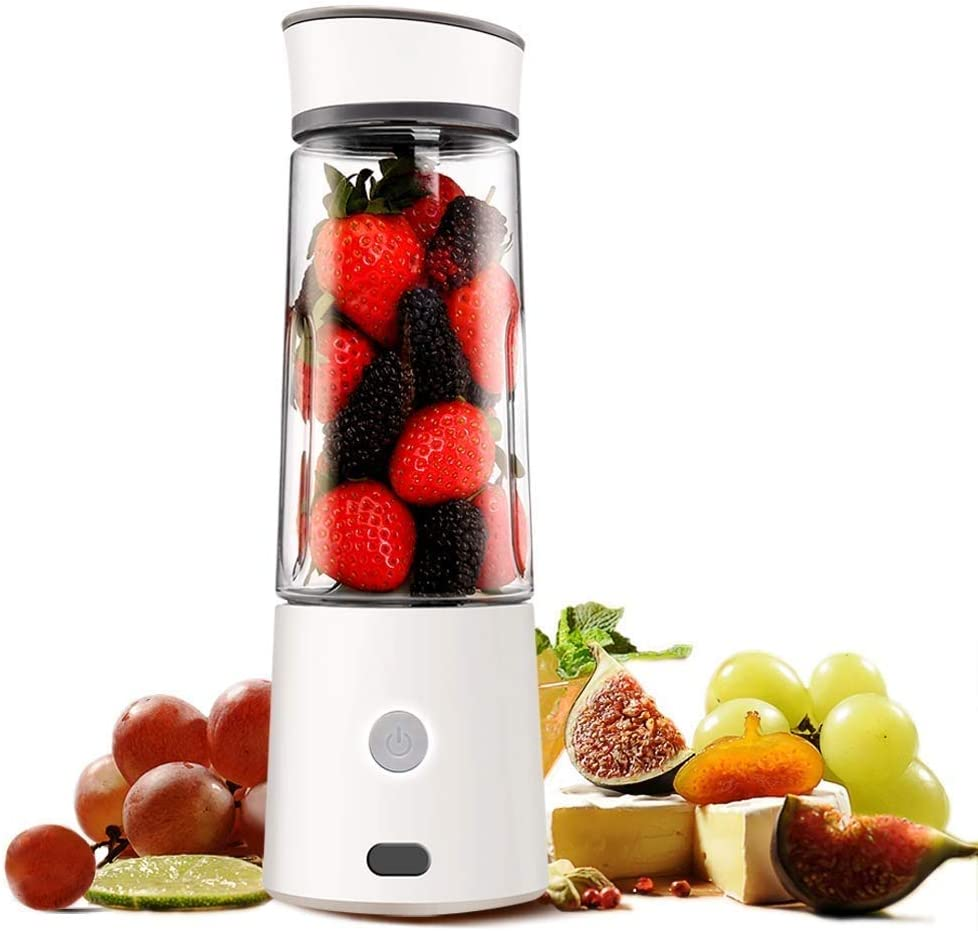 Bdesign Juicer 126W Power, Easy Clean Extractor Press Centrifugal Juicing Machine, Anti-drip, BPA-Free Household Fruit Small Juice Machine