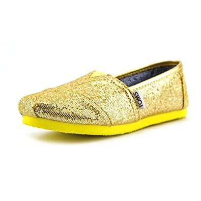 705a91865d540 Toms - Youth Canary Glitter Seasonal Classics Shoes, UK: 5 UK ...