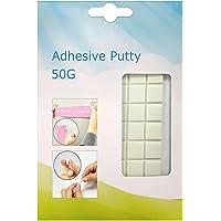 Yanyi Brand White Tack, kleefmassa, herbruikbaar, afneembaar en niet-giftig (super kleverige versie) (50 g)