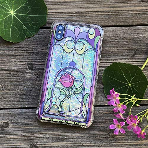 Enchanted Rose Iridescent Confetti iPhone Case for iPhone X, XS, XR, and XS Max