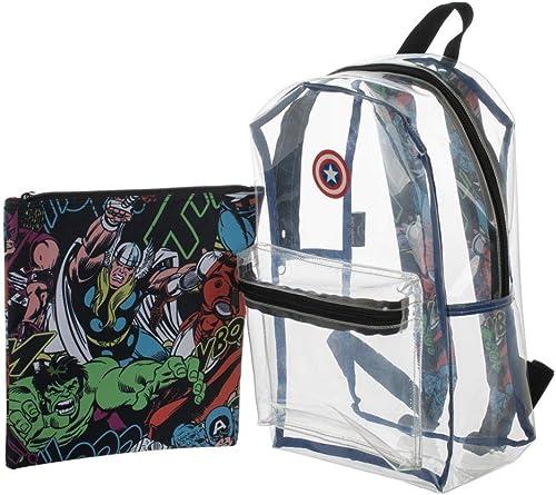 Marvel Avengers Classic Artwork Clear Backpack