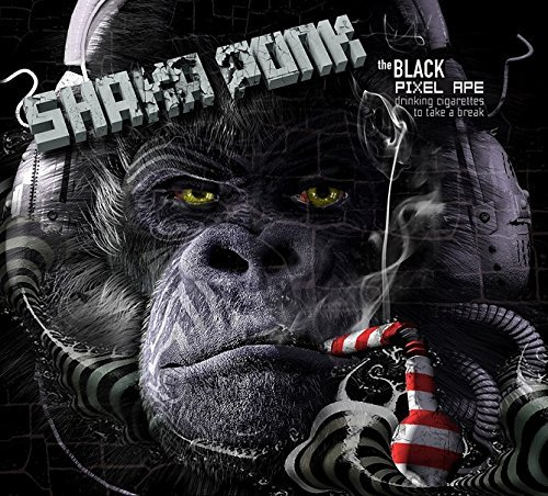 Price comparison product image Black Pixel Ape by Shaka Ponk (2014-08-03)