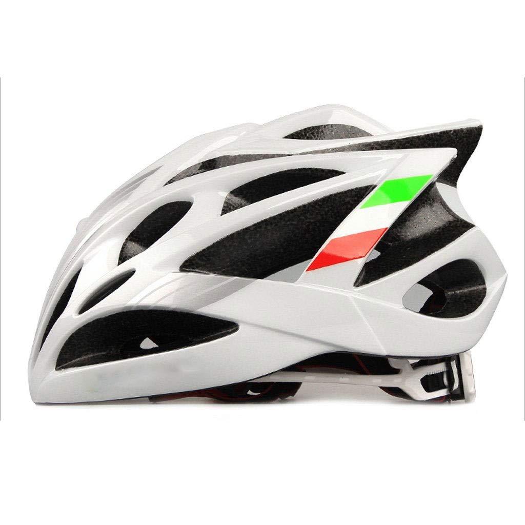 MGIZ ダイヤルフィット付きの軽量のマイクロシェル自転車ヘルメットの快適さ、大人用、および子供用のサイズ、快適で軽量  白 B07Q2WT6XS