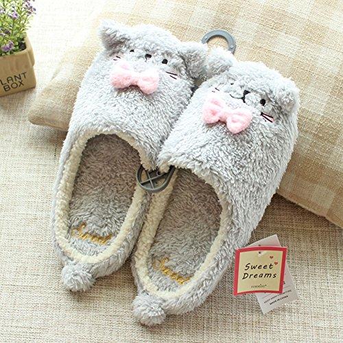 Pantofole Pet Casa Pantofole Pantofole Sfilate Divertenti Peluche Scarpa Indoor Calde Pantofole Antiscivolo Casa Gery Cat