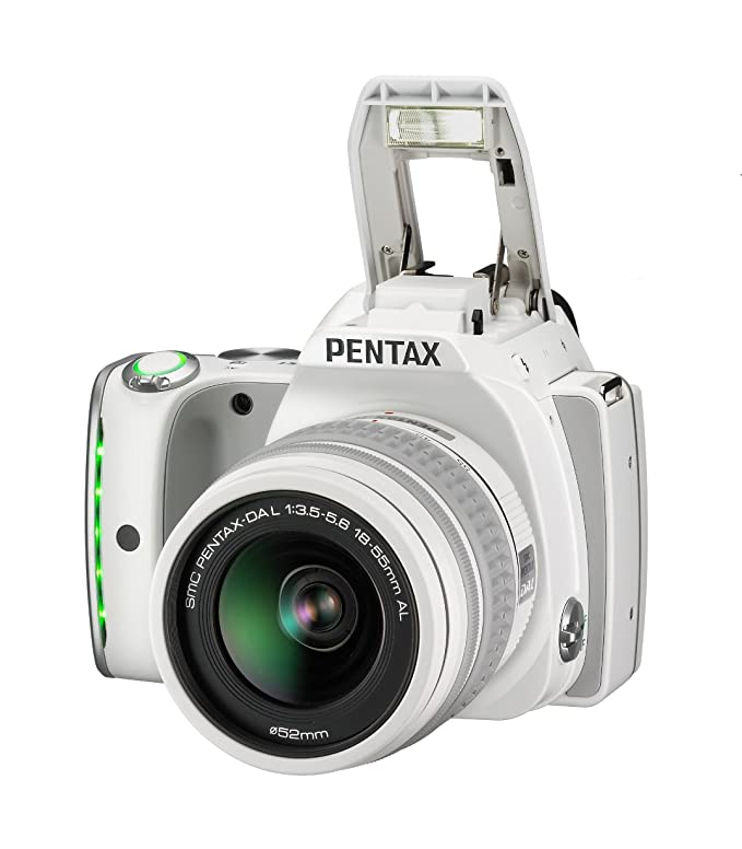Pentax K-S1 + DAL 18-55mm - Cámara réflex, Blanco: Amazon.es ...