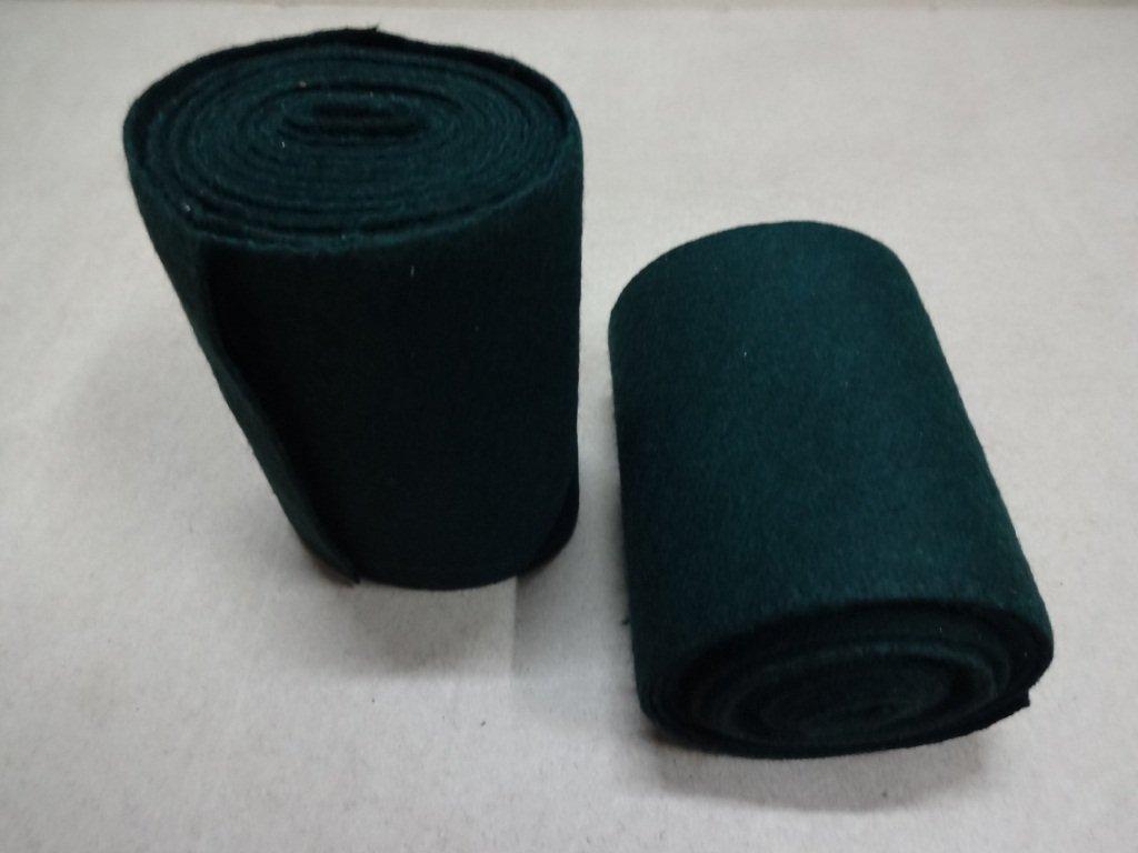 warreplica Medieval-SCA-LARP Reenactment Viking Wool Leg Wraps - Green Color