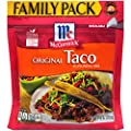 McCormick Resealable Family Size Taco Seasoning Mix, 10 OZ