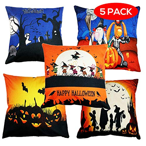 THE TWIDDLERS 5 Halloween Pillow/Cushion Covers - Very