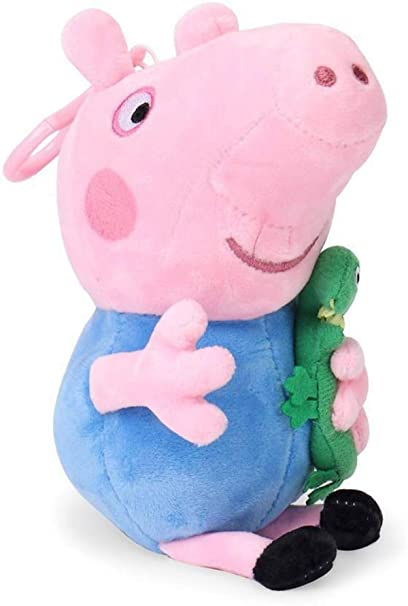 Tickles Peppa George Pig Soft Stuff Plush Toy Teddy for Kids 40 cm