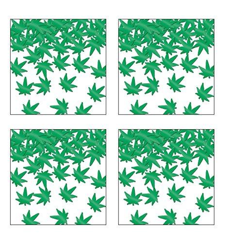 Beistle 59930, 4 Ounces Fanci Fetti Weed (Green)