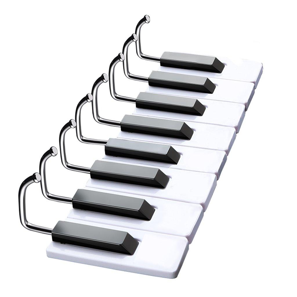 QXJPZ Gancho de Piano sin Rastro de Adhesivo sin uñas ...