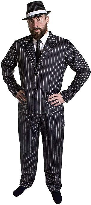 I LOVE FANCY DRESS LTD Disfraz DE Gangster Americano O Italiano DE ...