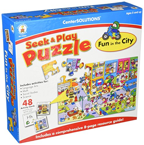 Fun in The City Jigsaw Puzzle