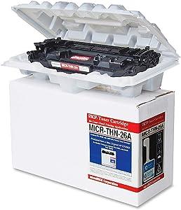 Micromicr MICRTHN26A MICR Toner Cartridge - Alternative for HP (26A) - Black