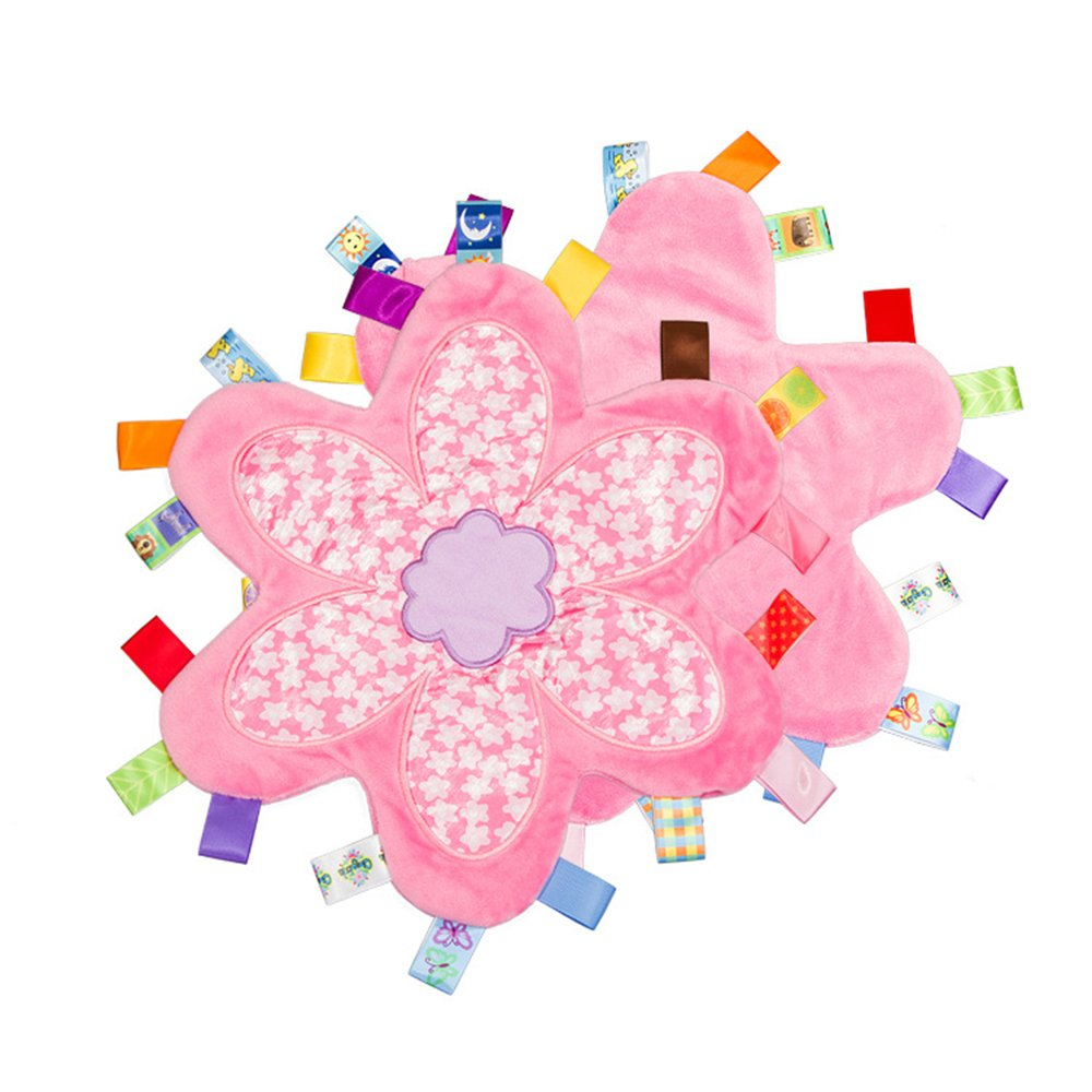 toddler taggy blanket comforter sensory security for paw patrol fans pink