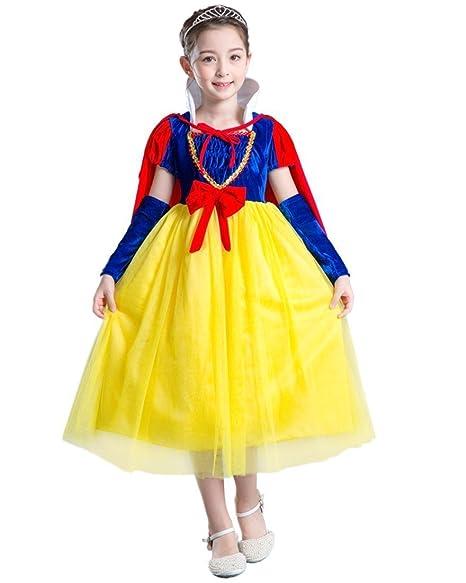 CoolChange Vestito di Biancaneve per Bambini 507bad42c9f