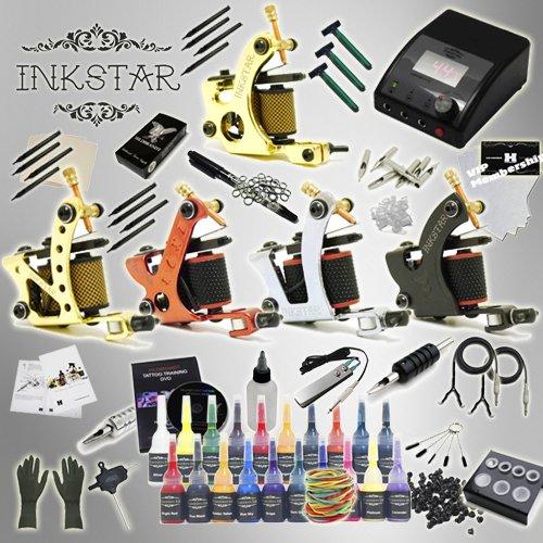 Tattoo Kit Inkstar Journeyman Rotary U0026 Radiant Black Ink Manual Guide