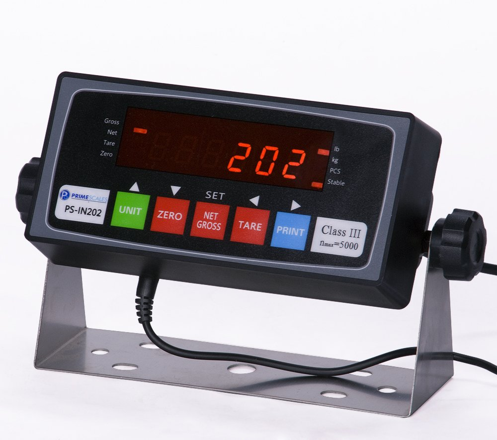 PS-IN202 NTEP Legal For Trade Indicator LCD,RS232,New