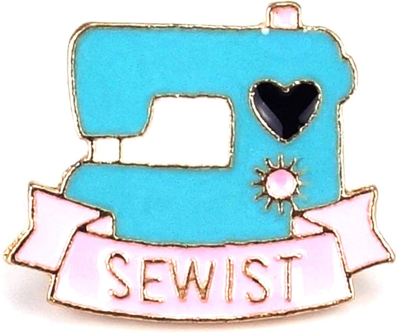 Naehgedoens.de Pin máquina de coser de Sewist, color turquesa y ...