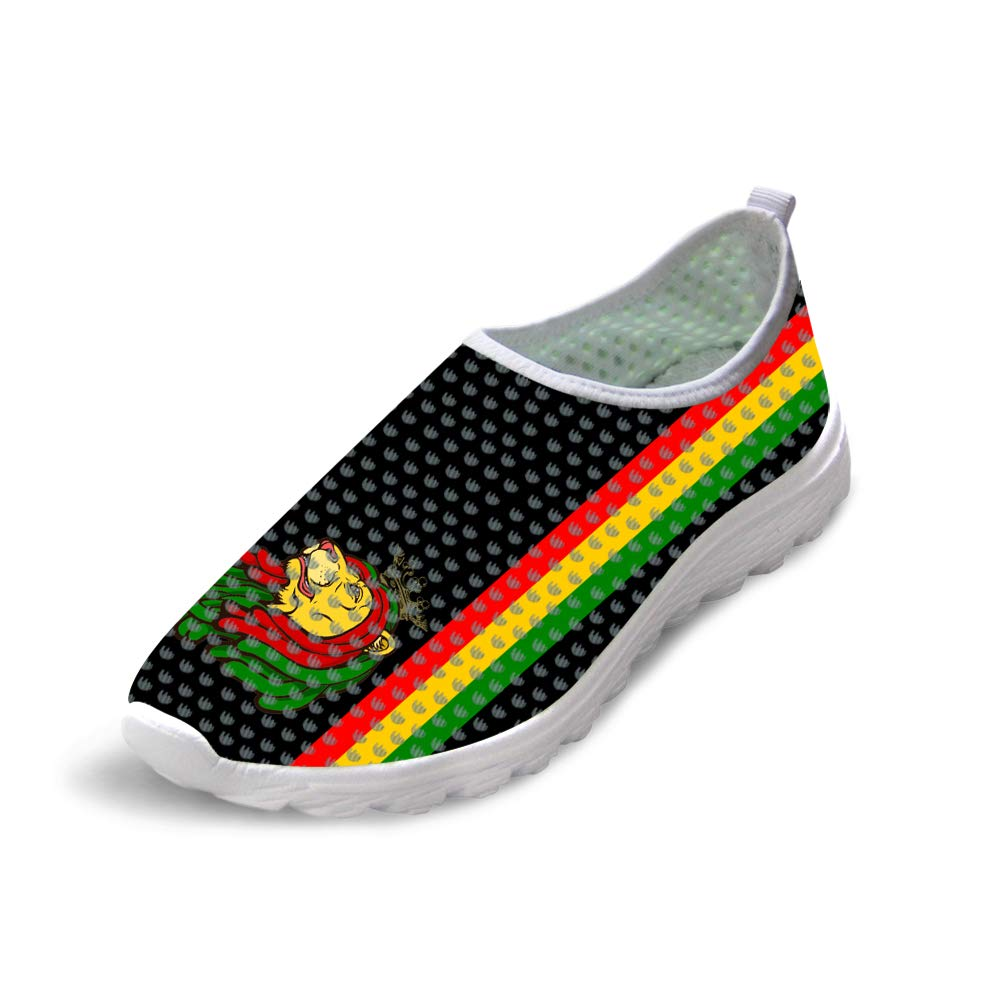 Owaheson Trail Runner Running Shoe Casual Sneakers Jamaica Resta Reggae Lion King