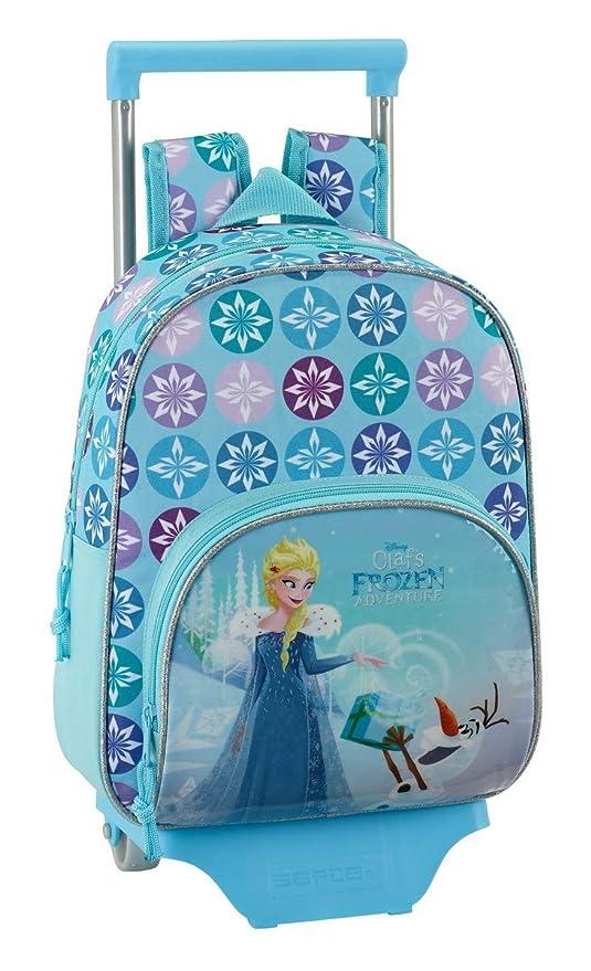 Disney Frozen – La Reina Elsa y Anna, Frozen Mochila con ruedas (S020)