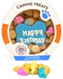 Gourmet Happy Birthday Dog Treats - Hard Cookie Snacks by Claudia's Canine