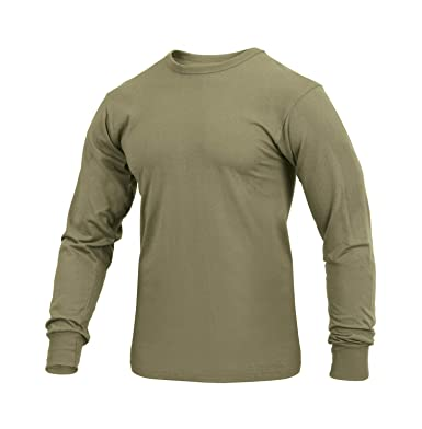 Amazon.com  Rothco Long Sleeve Solid T-Shirt  Clothing 7f4cdeaf776