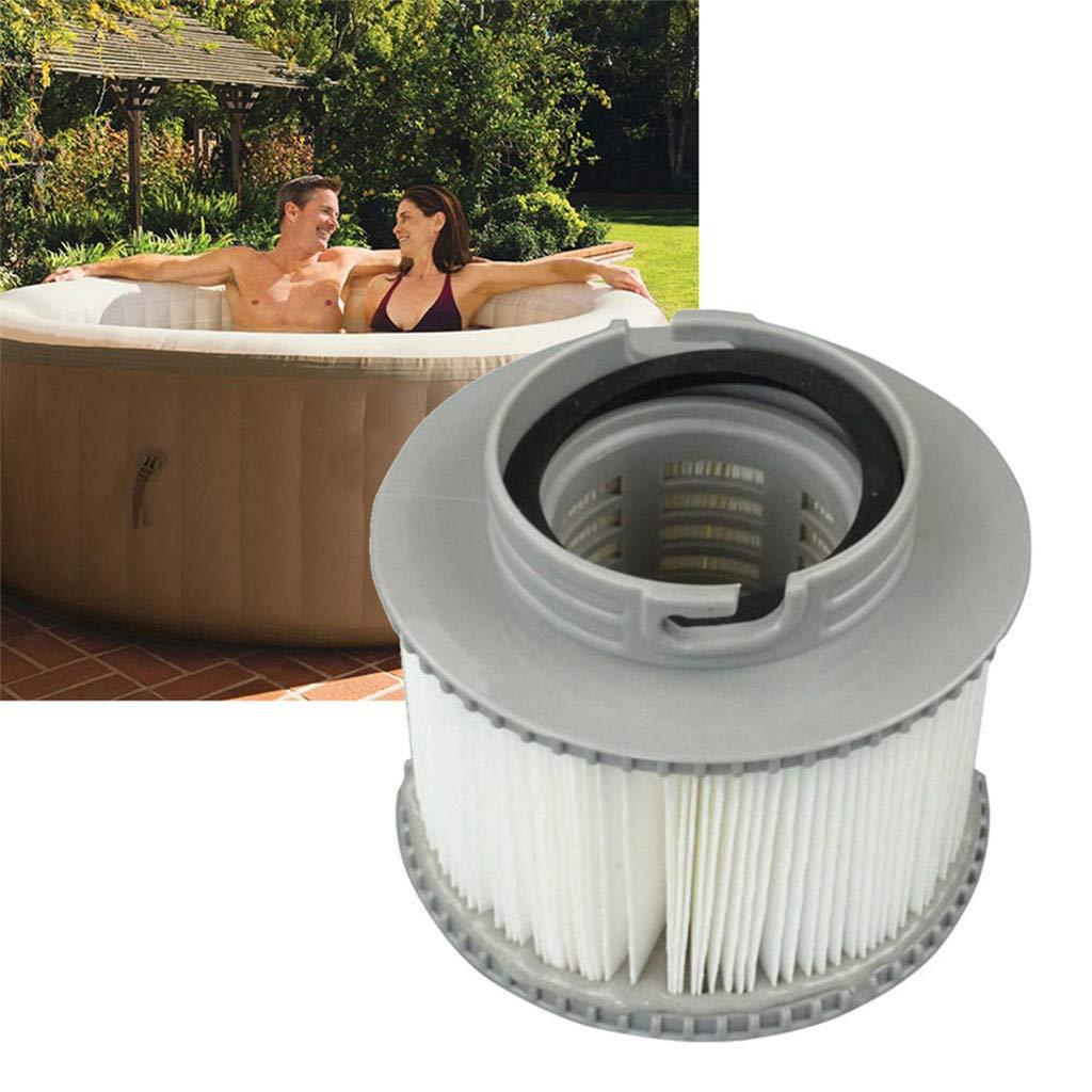 DEtrade - Juego de cartuchos de filtro de agua hinchables para ...