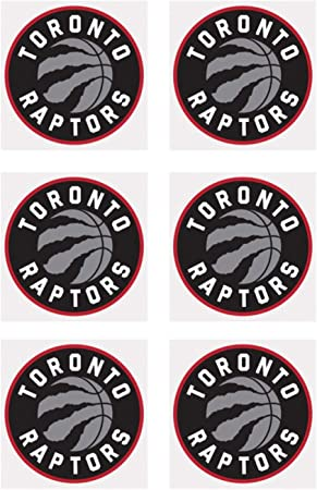 AAG 6 Raptors Logo pegatinas redondo troquelado Balón de ...