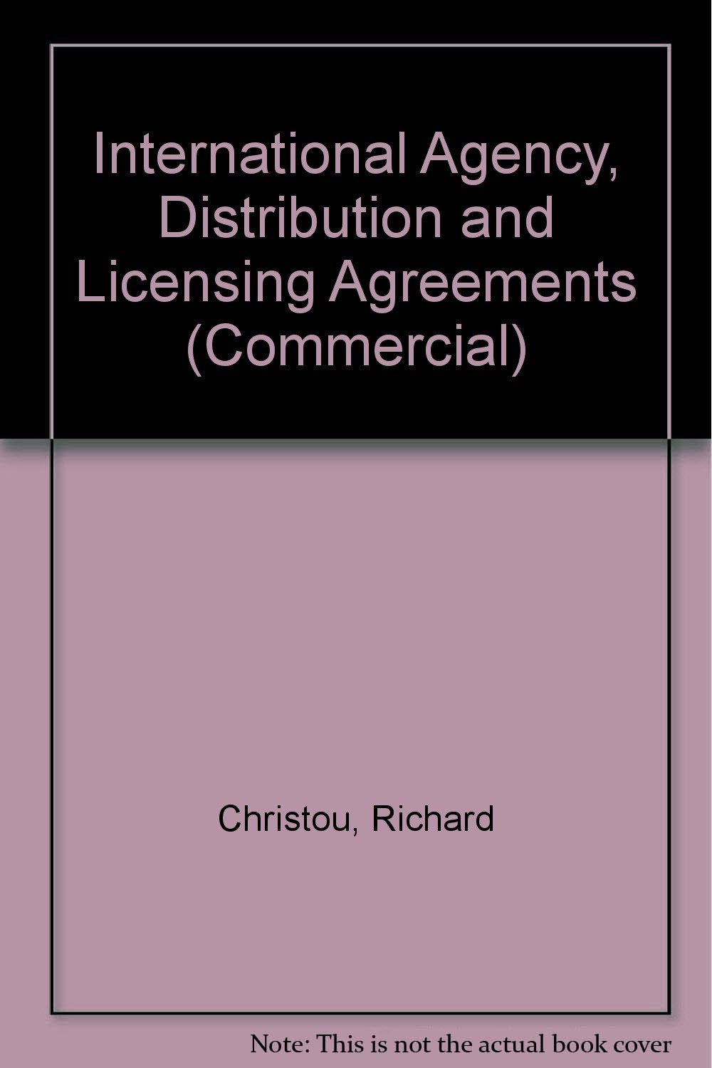 International Agency Distribution And Licensing Agreements Richard