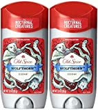 (2 Pack) Old Spice Wild Collection - Wolfthorn Scent - Men's...