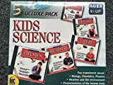 5 KID SCIENCE CD ROMS PHYSICS, CHEMISTRY, NATURE, BIOLOGY AND HUMAN BODY