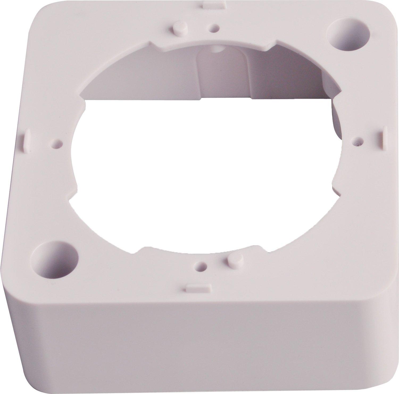 T/él/évision par c/âble prise de passage, adapt/é aux applications num/ériques Unicable utilisation en surface ou encastr/é DVB-T DUR-line Prise dantenne /à 3 trous SAT Radio