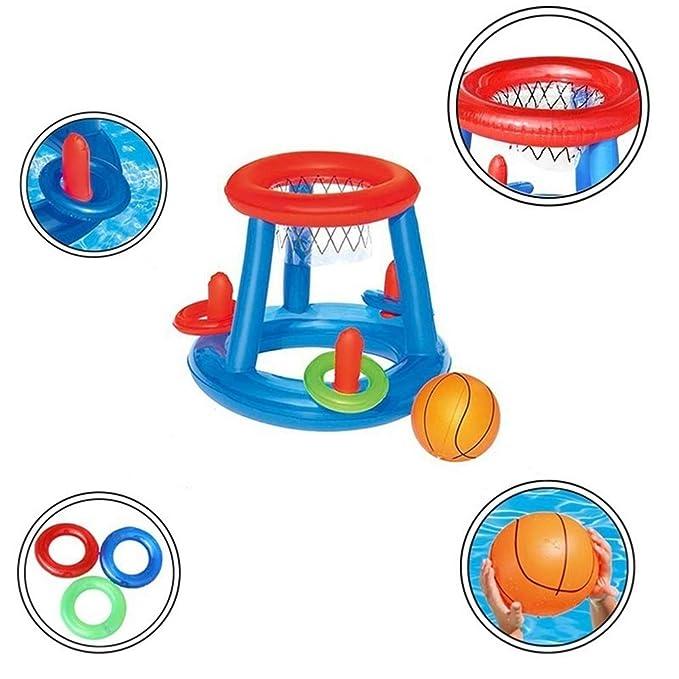 YL Juguete de la Canasta de Baloncesto Inflable de la Piscina para ...