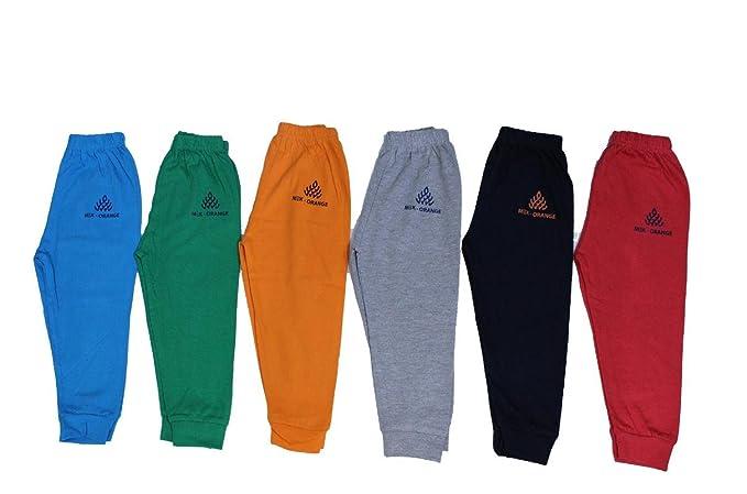 fc745c66ac Mek Orange Cotton Track Pants - Pack of 6  Amazon.in  Clothing ...