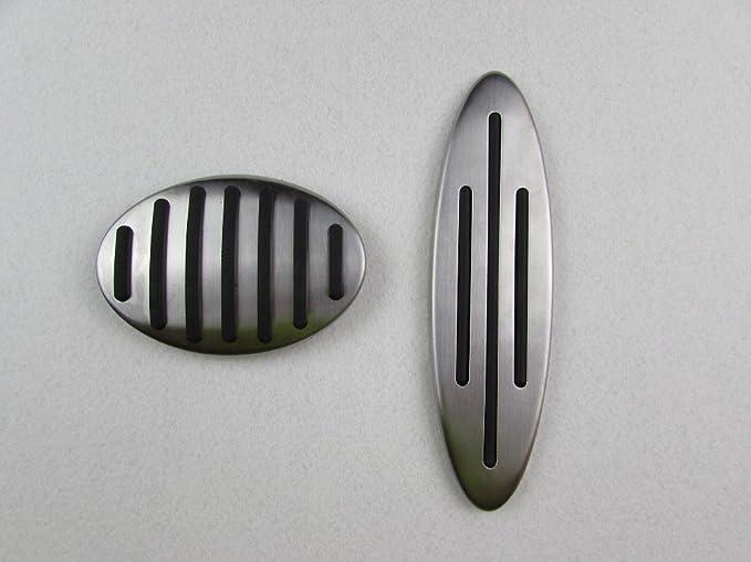 Qiankun No Drill Gas Fuel Brake Footrest non slip Pedal Cover For BMW MINI Cooper One Hatch Hardtop Countryman JCW R56 60 61 F54 55 56