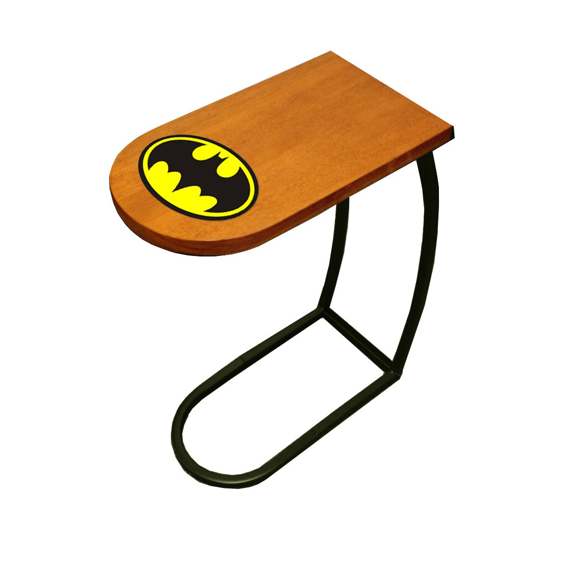 Amazon.com | New Oak Finish TV Tray With A Batman Theme! Tray Slides Under  Couch For Convenience!: Portable Tables: Serving Trays