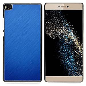 "For Huawei Ascend P8 (Not for P8 Lite) Case , Lluvia Nieve Azul Naturaleza Otoño Invierno Limpio"" - Diseño Patrón Teléfono Caso Cubierta Case Bumper Duro Protección Case Cover Funda"