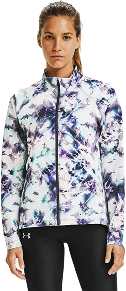 Under Armour womens Launch 3.0 Storm Printed Jacket