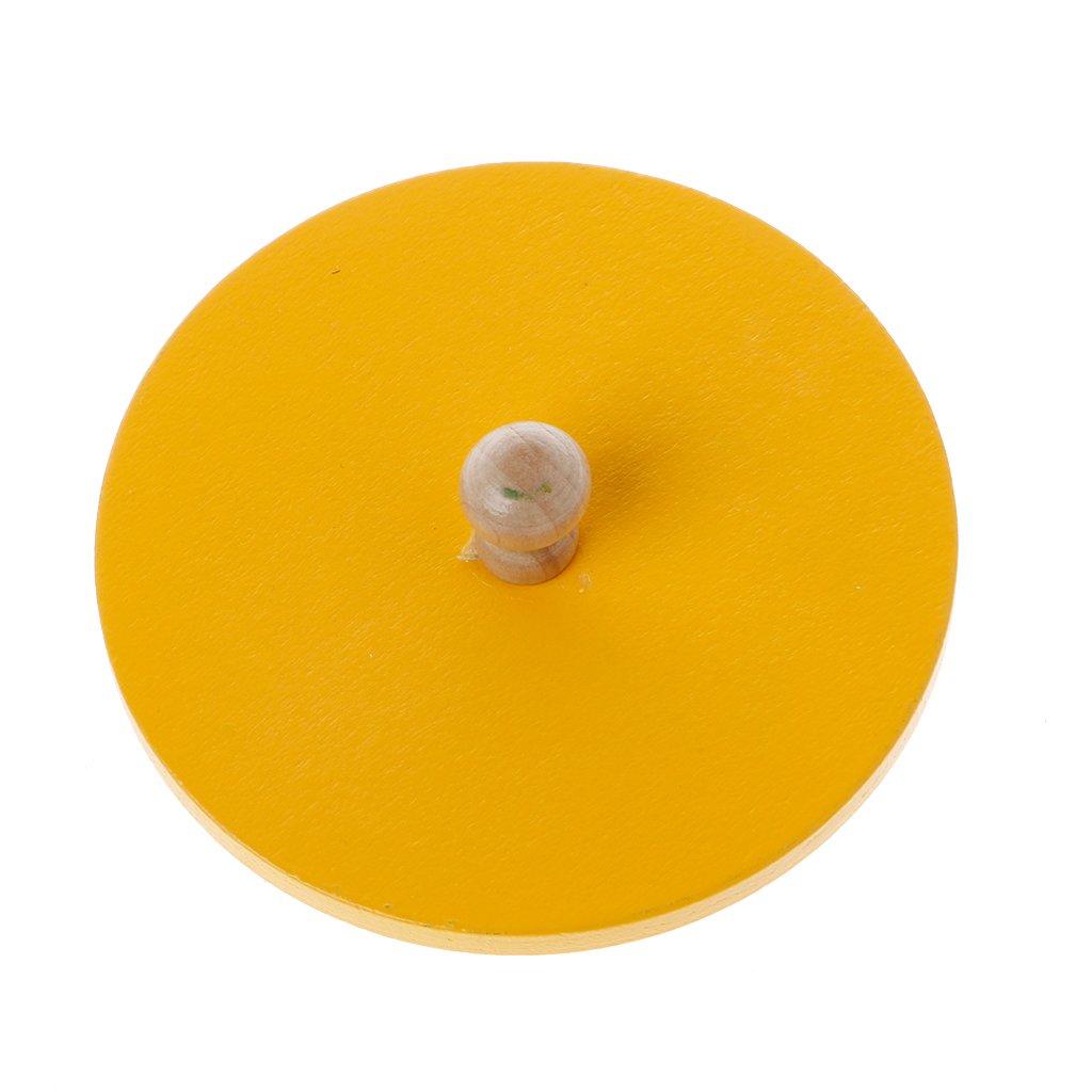 Aprendizaje Educativo Preescolar ni/ños Xuniu Kids Early Education Toys Formas Redondas de Madera Juguetes para ni/ños Montessori