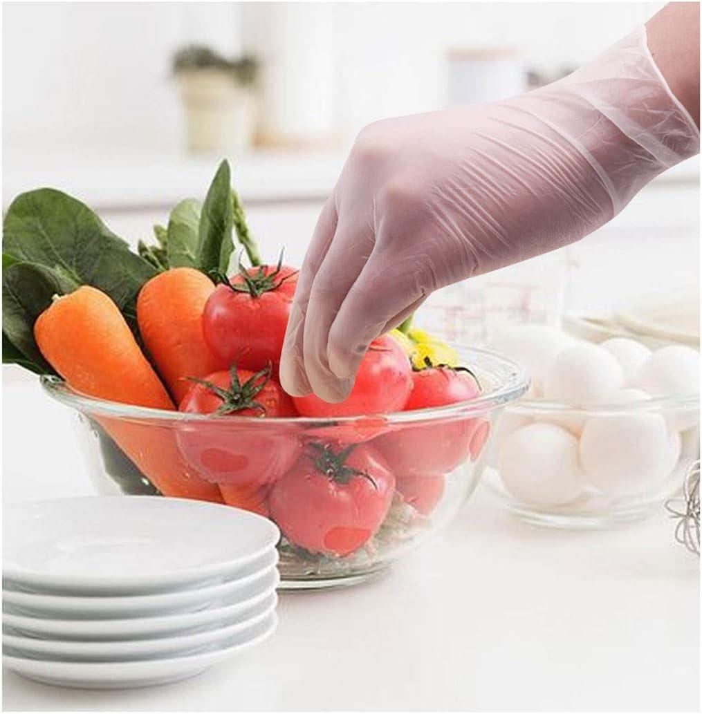 WYSTAO Cuisine de m/énage imperm/éable Vaisselle Gants de Nettoyage jetables Gants Femelles durables