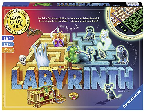 Ravensburger Labyrinth Glow in the Dark 30th Anniversary Edition Board Game -