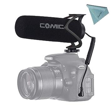 Comica CVM-V30 Lite Youtube - Micrófono de grabación de vídeo ...