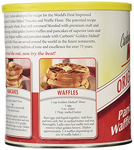 Golden Malted Waffle and Pancake Flour, Original (66 ounce) by Golden Malted (Image #2)
