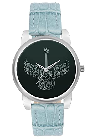 Wrist Watch For Women Bigowl Guitar Lover Cool Stuff Unique Branded Fashion Watches For Girls Best Casual Analog Leather Band Watch Perfect Gift